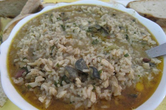 arroz de lapas