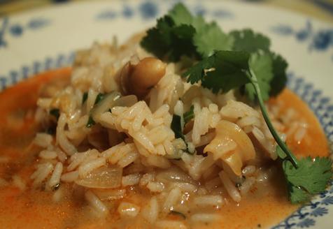 arroz de lingueirão