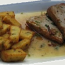 bifes de atum à madeirense