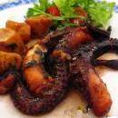 polvo assado no forno à moda dos Açores