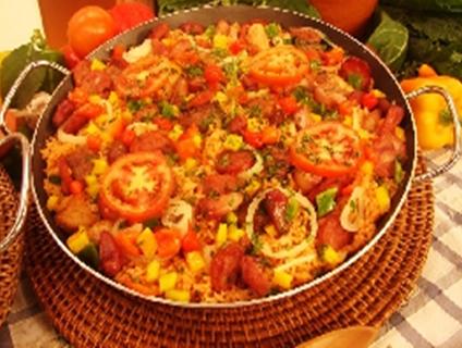 paella gaúcha
