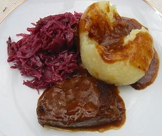 Carne Agridoce - Sauerbraten